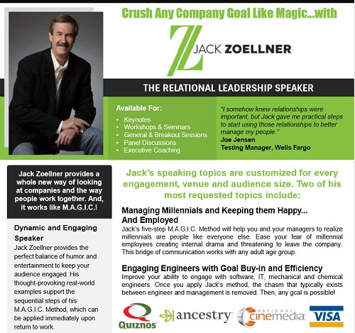 Jack Zoellner Relational Leadership Speaker One-Sheet thumbnail